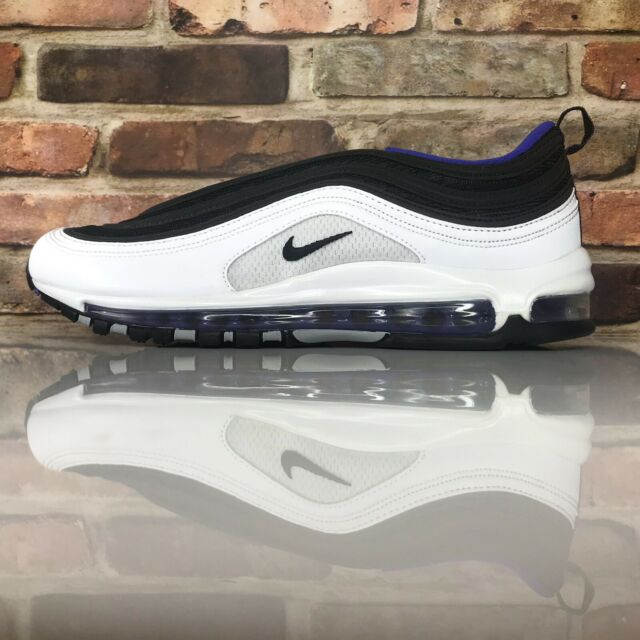 check out 18507 1e347 Nike Air Max 97 Mens Sz 11.5 PERSIAN VIOLET WHITE BLACK PURPLE SILVER  921826-103