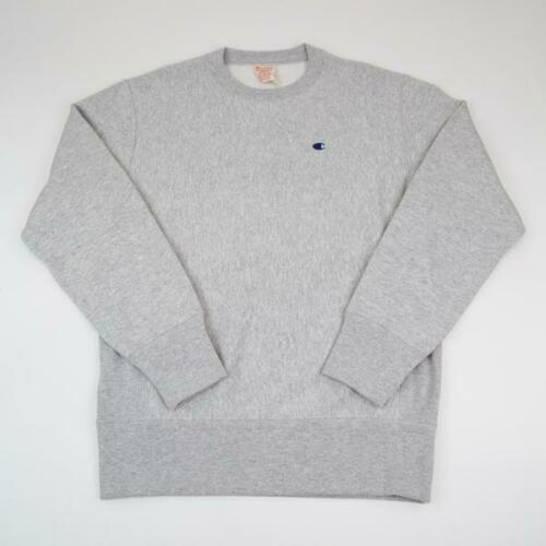 Champion Reverse Weave Crewneck Sweatshirt CEM572 Oxford Gray Brand New 2019