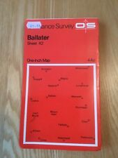 1963 Ordnance Survey One Inch Map 42 Ballater (incl Newkirk, Acharn, Crathie)