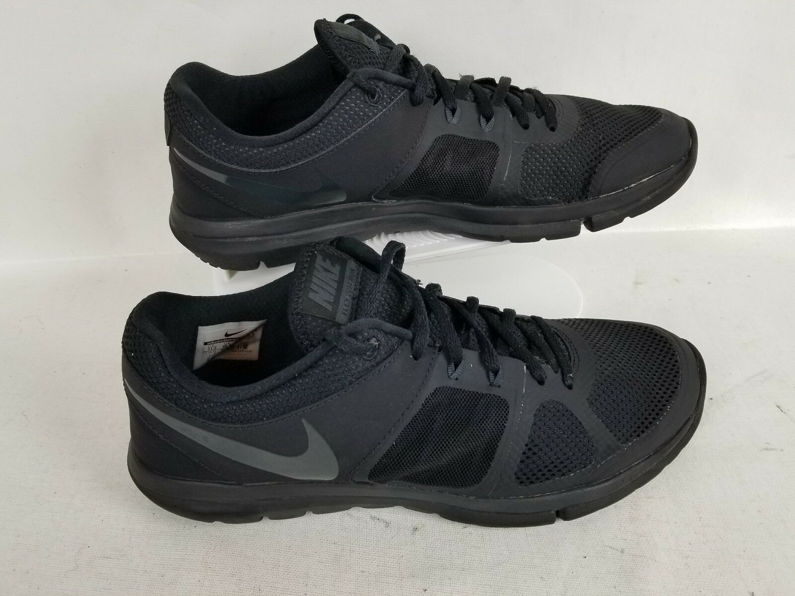 NIKE FLEX 2014 RUN  ATHLETIC RUNNING SNEAKERS BLACK SHOES MEN'S​ SIZE 11.5