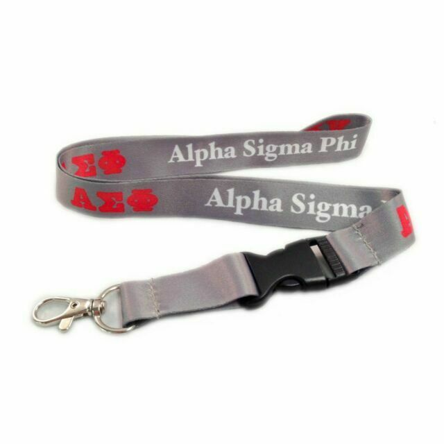 Licensed Vendor Sigma Pi Lanyard With Buckle