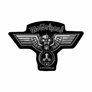 MOTORHEAD-Hammered-Cutout-Woven-Sew-On-Patch-Official-Licensed-Band-Merch