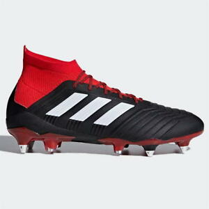 huge selection of f6ddc 4c5f8 Image is loading adidas-Predator-18-1-Mens-SG-Football-Boots-
