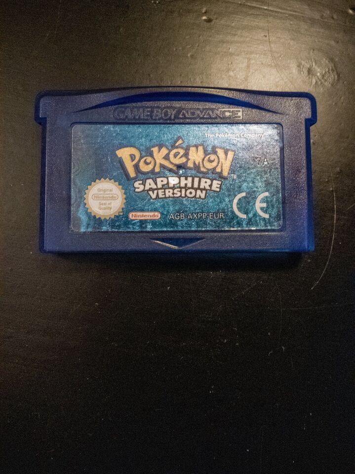 Pokemon Sapphire, Gameboy Advance, rollespil