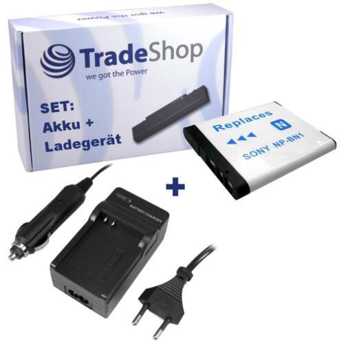 LADEGERÄT für Sony Cybershot DSC-W350 DSC-W-350 NP-BN1 NPBN1 AKKU