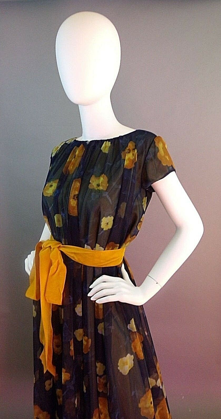 VINTAGE LUCIE ANN BEVERLY HILLS 1950s NIGHTGOWN - image 7