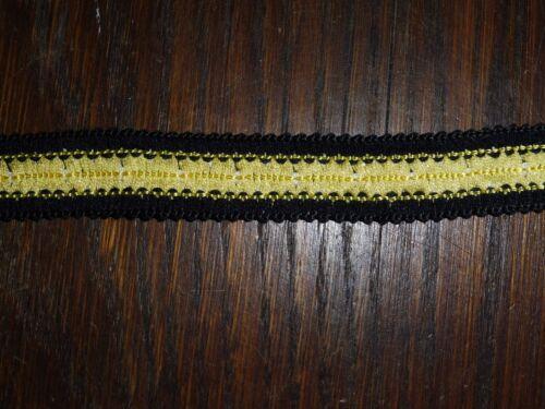 Höhe ca gelb schwarze Borte 2cm 50m auf einer Pappe OPEW 0,34€//m
