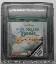 jeu LE LIVRE DE LA JUNGLE nintendo game boy color the book Mowgli wild adventure