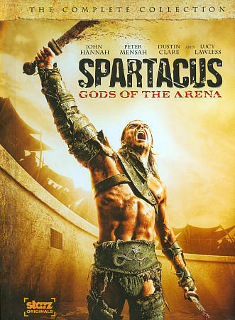 Spartacus Gods Of The Arena - The Complete Collection DVD, 2011, 2-Disc Set  - $0.99
