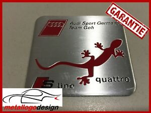 NEW-M308-Car-Badge-Emblem-Emblema-AUDI-SPORT-GERMANY-TEAM-GOH-60X55MM
