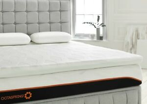 outlet store 301f7 19705 Details about Dormeo Octaspring Classic Mattress Topper Memory Foam Cooling  5 Year Warranty