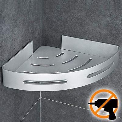 Eckablage Duschkorb Duschregal Ablage Duschablage Bad Regal Aluminium Eckregal Strukturelle Behinderungen Badzubehör & -textilien
