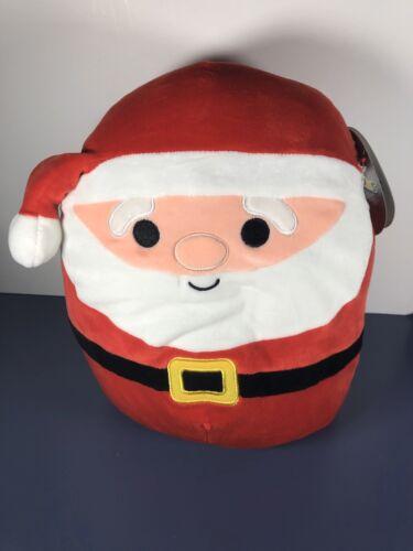 "NWT Kellytoy Squishmallow 2019 Christmas 11"" Nick Santa Claus Super Soft"