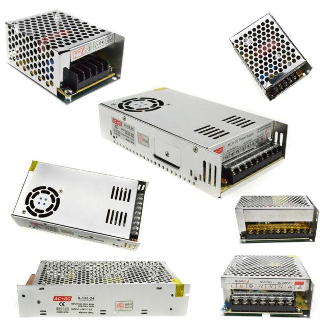 Universal 24V 1A 2A 3A 5A 10A 15A Switch Power Supply Driver adapter transformer