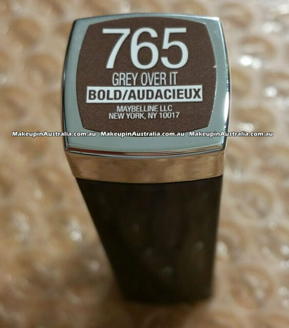 765 Grey Over it - Maybelline Color Sensational Lipcolour (Loaded Bolds)