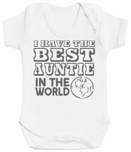 I Have The Best Auntie In The World Baby Bodysuit