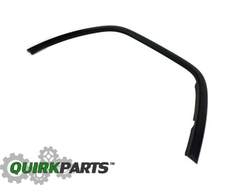 OEM 11-18 JEEP GRAND CHEROKEE BLACK TEXTURED RIGHT FRONT FENDER FLARE MOLDING