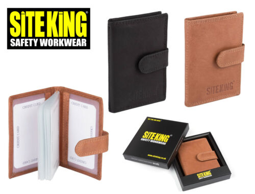 SKLW-005 SITE KING Credit Card Holder Wallet with RFID SAFETY SECURE