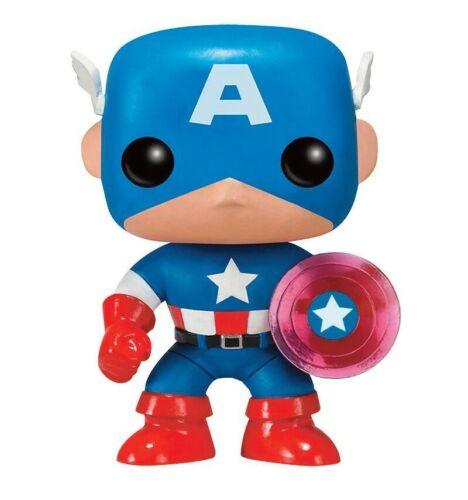 Vinyl Bobble Head Photon Shield 75th Anniversary Captain America Marvel Pop