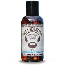 Beardilizer ® Beard Oil Collection - #5 Cherry Pipe Tobacco 4 Oz - 100% Natural