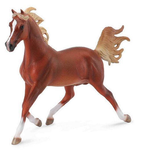 COLLECTA 88630 BRIGHT BAY ANDALUSIAN STALLION LARGE 1:12 SCALE HORSE TOY MODEL