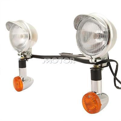 Passing Light Bar Turn Signals For Honda VTX 1800 TYPE C R S N F T RETRO