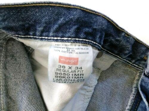 1mr 36x34 Étiquette Décoloré 9650 Wrangler Jeans Mesurée 35x33 Inv Tueur Hommes xFgBZwqP