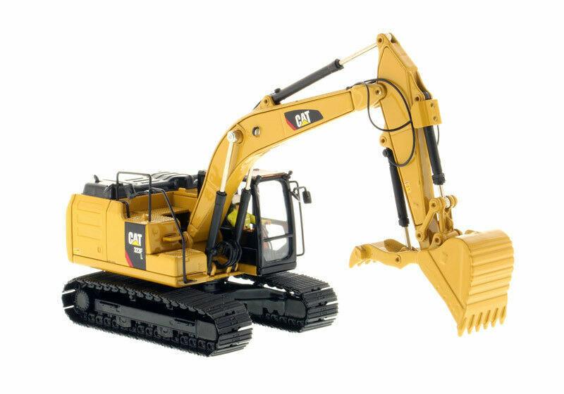 Cat 1 50 CATERPILLAR 323 F L Pelle hydraulique Modèle Diecast Vehicle Toy 85924