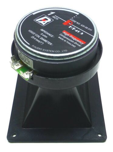 P Audio PHT-405 Compression Driver Square Horn Tweeter