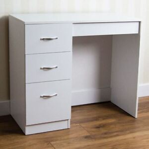 bedroom vanity with drawers riano 3 drawer dressing table white makeup desk wooden 14447