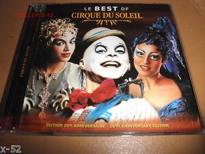 THE-BEST-of-Le-CIRQUE-DU-SOLEIL-cd-MYSTERE-alegria-O-Quidam-DRALION-Varekai