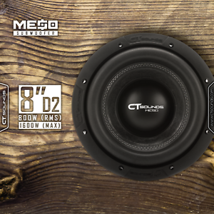 CT-Sounds-Meso-8-D2-800-Watt-RMS-8-034-Dual-2-Ohm-Car-Subwoofer-Power-Sub