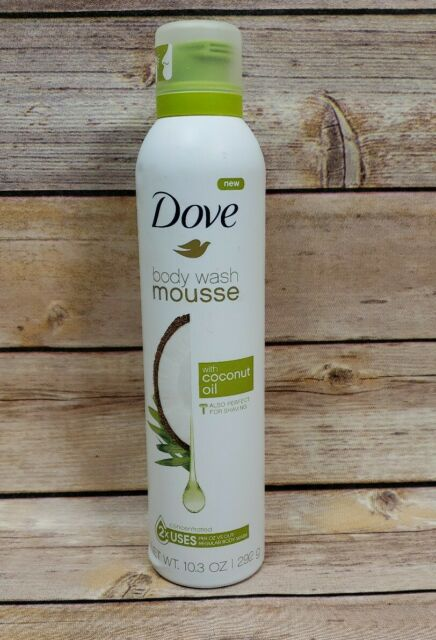 X5 Dove Body Wash Mousse With Coconut Oil 10 3oz For Sale Online Ebay