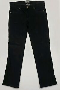 Black-Corduroy-Polo-Pants-8X32-Woman-039-s-2232