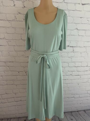 Vintage 70's Mint Green Disco/Secretary Dress - image 1