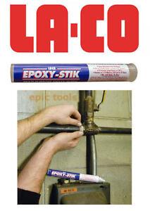 Details about LA-CO Epoxy-Stik Multi Purpose Water Metal Pipe Leak Repair  Putty Stick, 19571