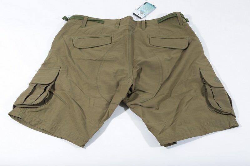 Korda Kore Kombat Shorts Military Olive Men's Carp Fishing Cargo Shorts NEW
