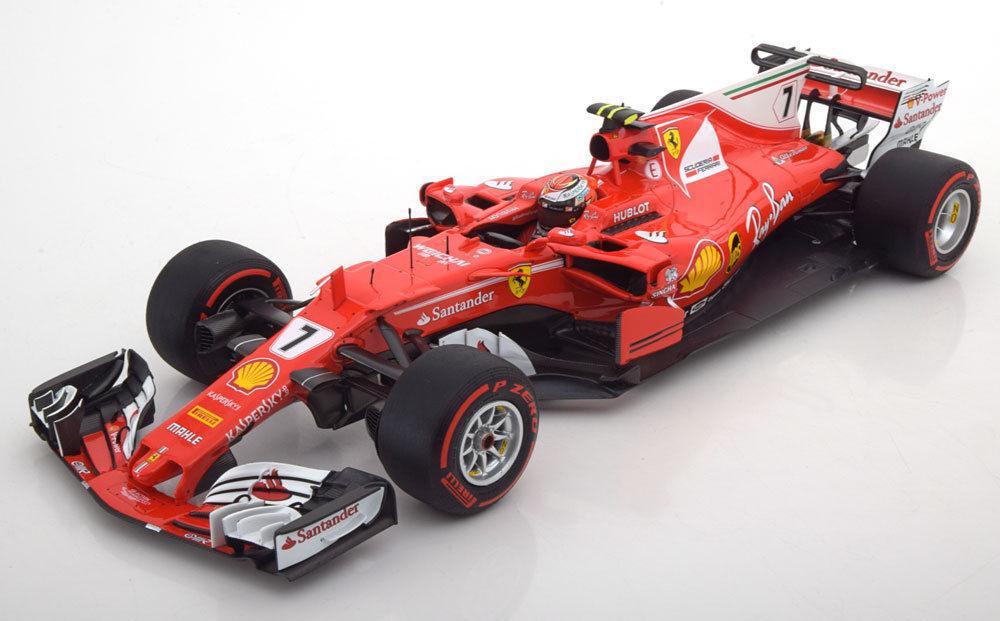 BBR Ferrari SF70H GP Monaco 2017 Raikkonen BBR181717 tärningskast bil New Item