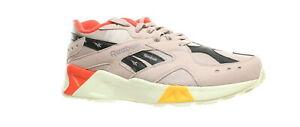Reebok-Mens-Aztrek-Ashen-Lilac-Lilac-Fog-Grey-Red-Gold-Running-Shoes-Size-10