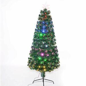 Details About 4ft Led Changing Lights Fiber Optic Pre Lit Christmas Tree Home Decoration 120cm