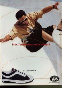 1996 Magazine 3563 shoes Trainers Notorious Advert The Vans wIq4Ux