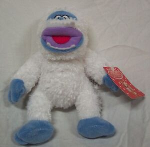 Rudolph-The-Red-Nosed-Reindeer-BUMBLE-ABOMINABLE-SNOWMAN-Plush-STUFFED-ANIMAL-NE