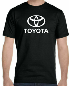 TOYOTA Logo T-Shirt Funny Birthday Cotton Tee Vintage Gift For Men Women
