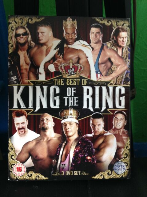 Best Of King Of The Ring (DVD, 2012, 3-Disc Set)