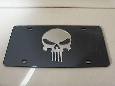 Punisher logo mirror Laser License Plate navy seals