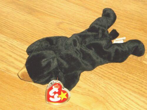 NWT! TY BEANIE BABIES-BLACKIE THE BEAR!