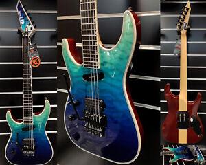 ESP LTD MH1000 QM-Violet Shadow Fade-Special Lefthand Edition!!!