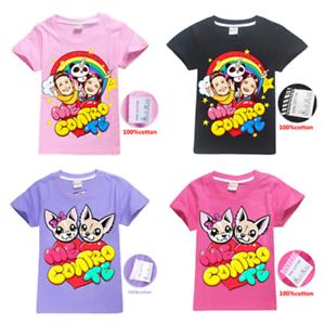 New-Me-Contro-Te-Cartoon-Figure-Kids-Boys-Girl-039-s-100-Cotton-Casual-T-Shirt-Tops