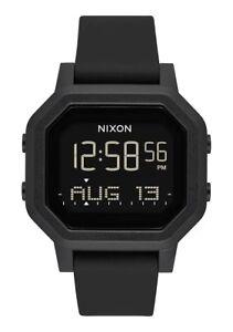 gran descuento 9473c c9e42 Detalles de Nuevo Nixon Mujer Sirena Reloj Digital Todo Negro