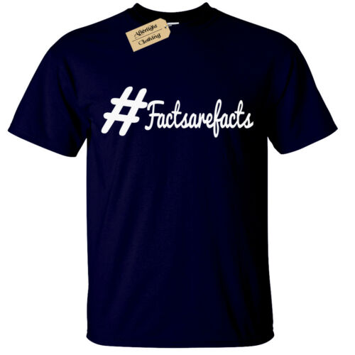 #factsarefacts T-Shirt funny circle facts are facts mens
